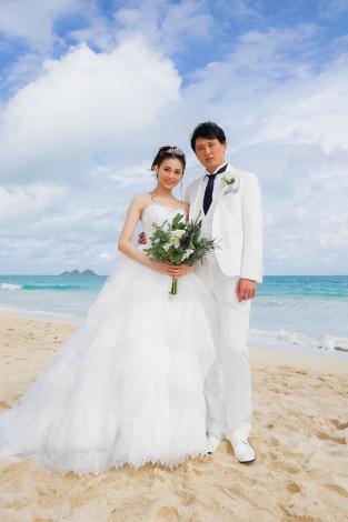 サムネイル ハワイで挙式した押切もえ&涌井秀章夫妻