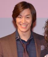 ミュージカル『アニー』2017年公演の記者会見に出席した青柳塁斗 (C)ORICON NewS inc.