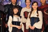 (左から)唯月ふうか、蘭乃はな (C)ORICON NewS inc.