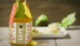 今年6月に漬け込んだ梅酒を熟成前に楽しむ「梅酒ヌーボー」が今年も解禁! 茨城県水戸市の明利酒類の『百年梅酒 春花』(希望小売価格・税別1500円) (C)oricon ME inc.
