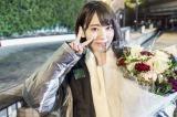 アイドルグループ・HKT48の宮脇咲良が、初の単独主演を勤めた日本テレビの連続ドラマ『キャバすか学園』(毎週土曜 深夜24:55※関東ローカル)をクランクアップ (C)「キャバすか学園」製作委員会