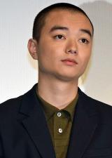 映画『海賊とよばれた男』公開初日舞台あいさつに登壇した染谷将太 (C)ORICON NewS inc.