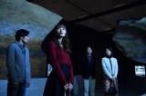 石田ゆり子&大谷亮平、開催中ラスコー展で『逃げ恥』ロケ (C)TBS