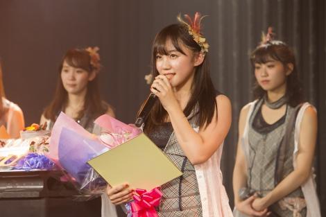 グループからの卒業と芸能界引退を発表した薮下柊 (C)NMB48