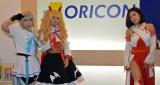 ゲームコスプレでPRした(左から)手束真知子、新井愛瞳、真部小夜 (C)ORICON NewS inc.