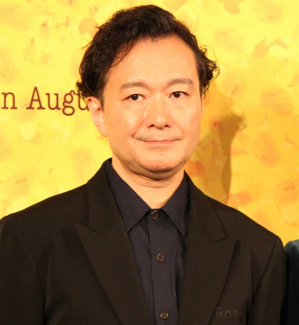 ミュージカル『ビッグ・フィッシュ』製作発表記者会見に出席した白井晃 (C)ORICON NewS inc.