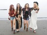 Dreamが14年間の軌跡をつづった初エッセイを発売(左からAya、Shizuka、Erie、Ami)