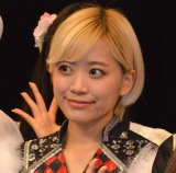『Kawaiian TV SUPER LIVE 2016〜2周年もみ〜んな一緒だよっ スペシャル〜』前の囲み取材に出席したベイビーレイズJAPAN・林愛夏 (C)ORICON NewS inc.