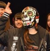 『Kawaiian TV SUPER LIVE 2016〜2周年もみ〜んな一緒だよっ スペシャル〜』前の囲み取材に出席したhy4_4yn(ハイパーヨーヨー)・ゆか (C)ORICON NewS inc.