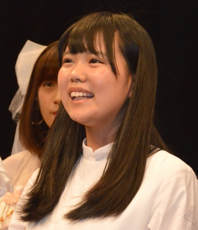 『Kawaiian TV SUPER LIVE 2016〜2周年もみ〜んな一緒だよっ スペシャル〜』前の囲み取材に出席したアイドルネッサンス・南端まいな (C)ORICON NewS inc.