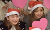 (左から)ベック、板野友美=『ホリNS火曜祭2016』 (C)ORICON NewS inc.