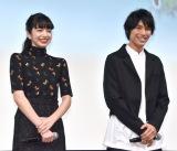 (左から)小松菜奈、福士蒼汰=映画『ぼくは明日、昨日のきみとデートする』女子限定試写会イベント (C)ORICON NewS inc.