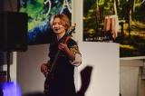 2ndアルバム『召し上がれのガトリング』発売記念イベントを行ったDISH//のRYUJI(B)