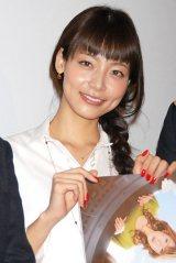 映画『FLY!〜平凡なキセキ〜』の舞台あいさつに登壇した相武紗季 (C)ORICON DD inc.
