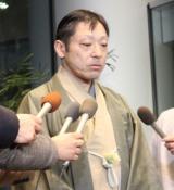 報道陣の取材に応じた香川照之 (C)ORICON NewS inc.