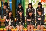 12月22日放送、『NMBとまなぶくんSP』泣き出すNMB48のメンバー(C)関西テレビ