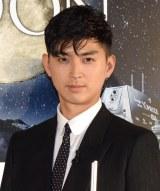 au×HAKUTOオリジナルプラネタリウム「MOON」公開記念イベントに出席した松田翔太 (C)ORICON NewS inc.