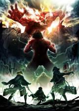 2017年4月より放送開始が決定したアニメ『進撃の巨人』Season 2ビジュアル