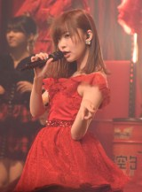 『第6回AKB48紅白対抗歌合戦』大トリを務めた指原莉乃 (C)ORICON NewS inc.