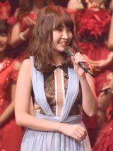 審査員を務めた小嶋陽菜=『第6回AKB48紅白対抗歌合戦』の模様 (C)ORICON NewS inc.