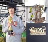 ジュニアコースで優勝した台湾代表のチョ・シェン・ジュンさん (C)ORICON NewS inc.