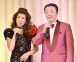 『中川博之三回忌「愛をありがとう」ディナーパーティー』に出席した(左から)櫻井まり、松平直樹