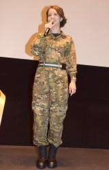 映画『アイ・イン・ザ・スカイ 世界一安全な戦場』公開記念トークショーに登場した春香クリスティーン (C)ORICON NewS inc.