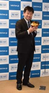 シリーズ番組『ご当地ラーメン探訪』記者会見に出席した佐藤二朗 (C)ORICON NewS inc.