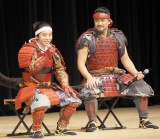 (左から)浦上晟周、藤本隆宏=『真田丸』最終回(第50回)パブリックビューイング (C)ORICON NewS inc.