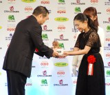 『第41回 報知映画賞』表彰式で助演女優賞を受賞した杉咲花 (C)ORICON NewS inc.