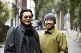 北条司氏(左)と井上雄彦氏の師弟対談が実現=『グランドジャンプ』2号(集英社)より