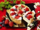 苺大福がチーズタルトに!
