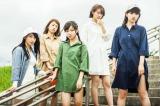 来年2月末で現体制を終了させるlyrical school(左から)mei、ami、hime、minan、ayaka