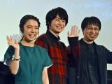 映画『君の名は。』大合唱上映会に登壇した(左から)上白石萌音、神木隆之介(C)ORICON NewS inc.