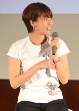 日テレ時代の上田まりえ (C)ORICON NewS inc.