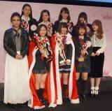 『女子高生ミスコン2015-2016』の受賞者たち (C)ORICON NewS inc.