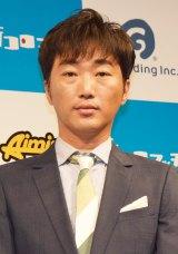 新感覚サイコロゲームアプリ『街コロマッチ!プロジェクト』記者発表会に出席したスピードワゴン・小沢一敬 (C)ORICON NewS inc.