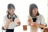 31日放送のTBS系連続ドラマ『死幣』の第8話に出演する(左から)莉音、永井理子 (C)TBS