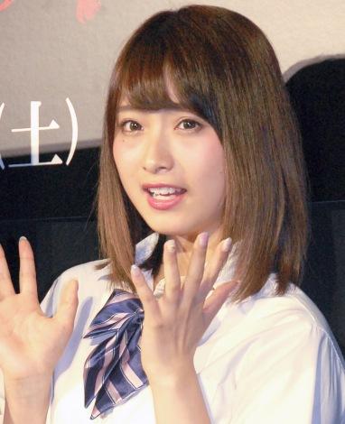 """""""りこぴん""""こと永井理子=映画『ライト/オフ』イベント (C)ORICON NewS inc."""
