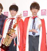 (左から)本田響矢さん、那須泰斗さん=『男子高生ミスターコン2016』 (C)ORICON NewS inc.