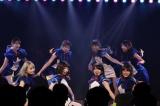 9期生で「走れペンギン」を披露=島崎遥香の卒業公演の模様 (C)AKS