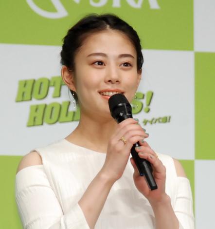 『2017年 JRA新CM発表会』に出席した高畑充希 (C)ORICON NewS inc.