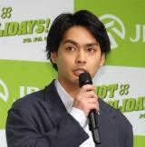 『2017年 JRA新CM発表会』に出席した柳楽優弥 (C)ORICON NewS inc.