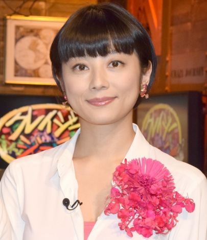 TBS系『クレイジージャーニー元日SP』収録後の囲み取材に出席した小池栄子 (C)ORICON NewS inc.