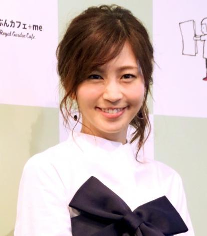 サムネイル 第1子妊娠を生報告した安田美沙子 (C)oricon ME inc.