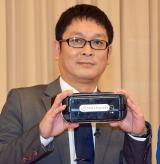 新チャンネル『求む!4人目のダチョウ倶楽部』記者会見に出席したデンジャラス・安田和博