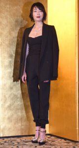 『第29回日刊スポーツ映画大賞・石原裕次郎賞』の授賞式に出席した宮沢りえ (C)ORICON NewS inc.