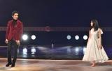 全力パフォーマンスを披露した郷ひろみと土屋太鳳=『第67回紅白歌合戦』リハーサル2日目より (C)ORICON NewS inc.