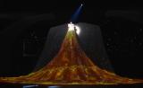 巨大衣装をお披露目した水森かおり=『第67回紅白歌合戦』リハーサル2日目より (C)ORICON NewS inc.