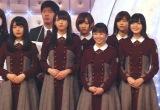 (前列左から)長濱ねる、渡辺梨加、今泉佑唯、平手友梨奈、(後列左から)志田愛佳、渡邉理佐 (C)ORICON NewS inc.